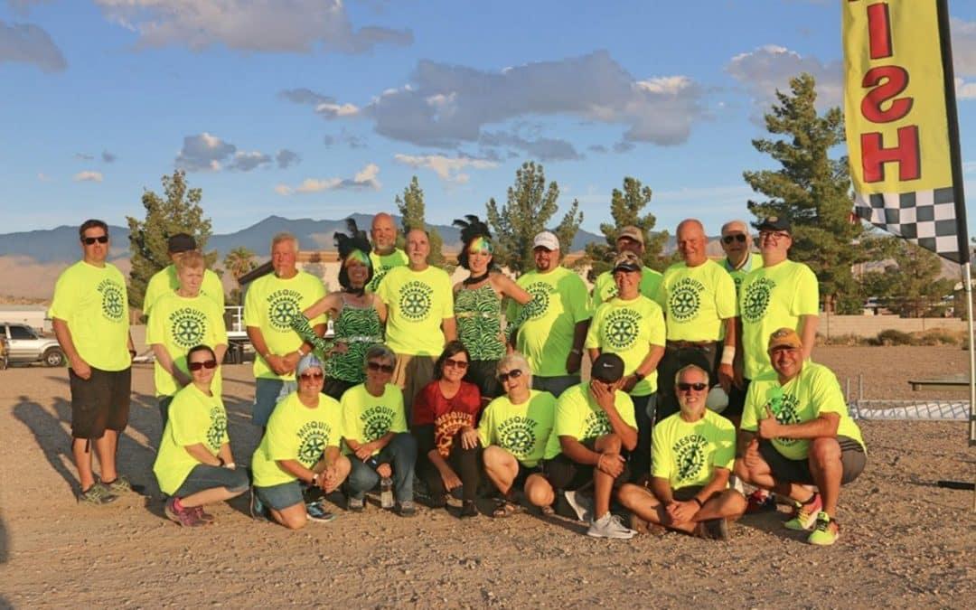 Rotary Club of Mesquite's 2nd Annual Glow Fun Run