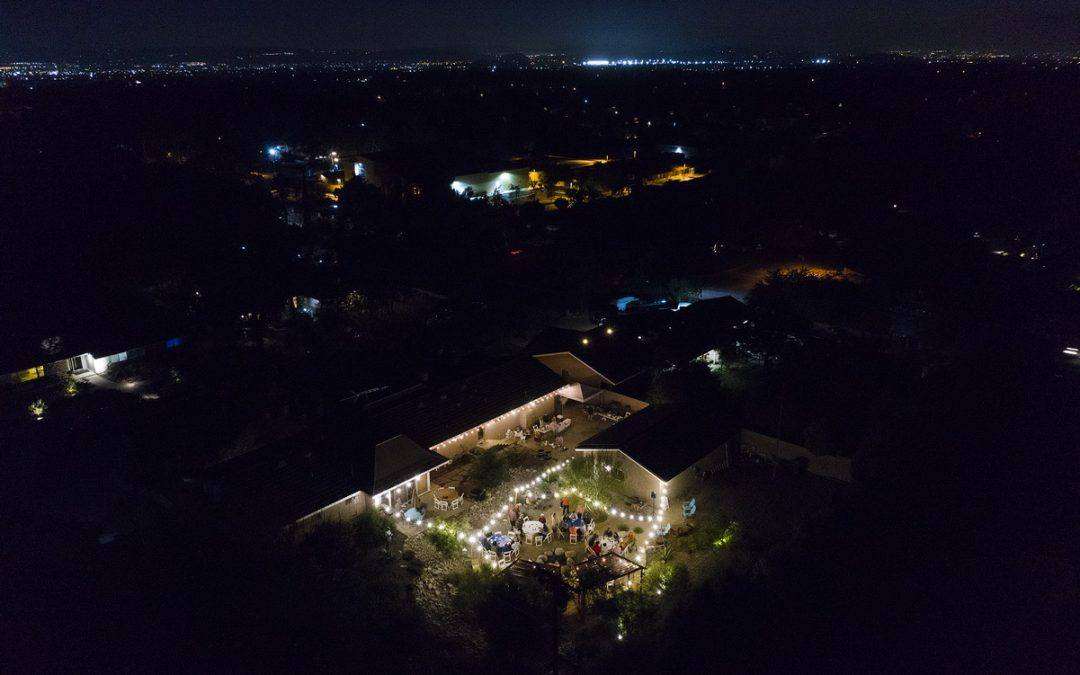Claremont Rotary Club Fall BBQ Aerial Pictures